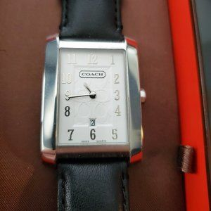 Coach - Watch with White Face